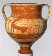 Mycenaean chariot krater