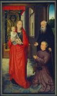 The Virgin and Child with St. Anthony Abbot and a Donor