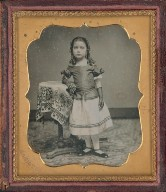 Untitled (Young Girl in Bloomers)