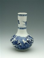 Bottle-Shaped Vase (One of a Pair)