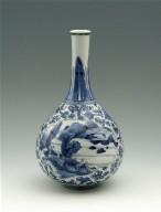 Bottle-Shaped Vase with Globular Body