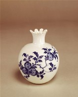 Small Vase with Flaring Foliate Lip