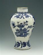 Vase of Inverted Baluster Shape with Short Neck