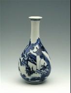 Small Bottle-Shaped Vase