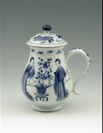 Covered Jug with Handle (One of a Pair)