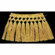 YELLOW KNOTTED FRINGE