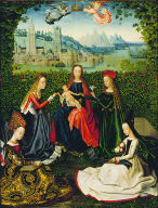 Virgin of the Rose Garden
