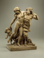 Bacchante and Satyr with Young Satyr