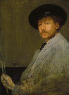 Arrangement in Gray: Portrait of the Painter