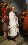 Marguerite Leaving Church
