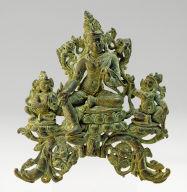 Avalokitesvara in the form of Padmapani