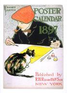 (Cover) Poster Calendar 1897 (Self-Portrait)