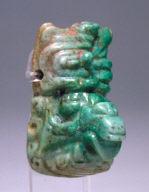 Mayan God headband ornament