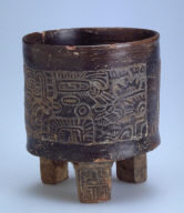 Tripod cylinder vessel