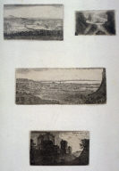 Four prints from: Sixteen sheets containing 58 plates