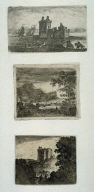 Three prints from: Sixteen sheets containing 58 plates
