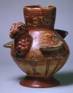 Turkey effigy jar