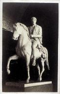 Equestrian Statue by Bertel Thorwaldsen (Danish 1768-1844)