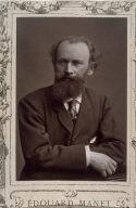 Edouard Manet from the series Galerie contemporaine, littéraire, artistique