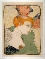 Mademoiselle Marcelle Lender, en buste, published in Pan