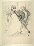Réjane et Galipaux, dans Madame Sans-Gêne