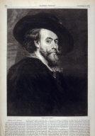 Peter Paul Rubens - p.708 Harper's Weekly, 8 September 1877