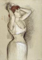 Woman Dressing (La coiffure)