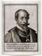 Portrait of William D.G. Palatin of the Rhein and Bavaria