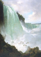 Horseshoe Falls from below the High Bank