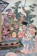 Treasure ship with the Seven Lucky Gods