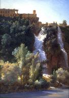 View of the Falls at Tivoli (Vues des Cascades de Tivoli)