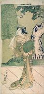 The Actor Ichimura Uzaemon IX as a Shirabyoshi (Temple Dancer)in the play Musume Dojoji