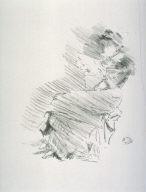 Reading, from the portfolio Notes (London: Boussod, Valadon & Co., 1887)