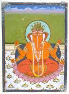 Ganesha, son of Shiva and Parvati