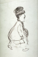 Study of Woman Walking