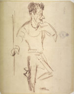 Caricature Portrait of John Sloan
