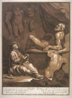 The Drawing Apprentice. Title page for the Drawing Book of Abraham Bloemaert