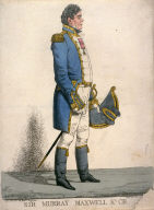 Caricature (full figure) of Sir Murray Maxwell,Kt. C. B.