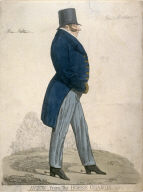 "Caricature (full figure) of General Bottom - ""A View from the Horse Guards"""