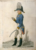 "Caricature (full figure) of Duke of Wellington - ""The Master General of Ordinance"""