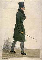 """Caricature (full figure) of Prince Esterhazy - """"A Princely Ambassador"""""""