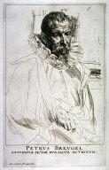 Portrait of Pieter Breugel