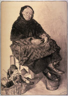 Marchande de lacets (Merchant who sells laces) from L'Estampe Moderne (Modern Prints), No. 1, May 1897