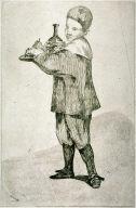 Lenfant portant un plateau (Child carrying a tray)