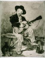 Le guitarrero (The guitar player)