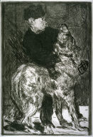 Lenfant et le chien (Child and dog)