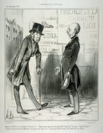 Cuenses d'affiches! cré coquines d'annonces!!.. no. 1 from the series L'annonce et la réclame published in La Caricature 5 May 1839