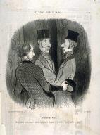 Un chapeau neuf no. 45 from the series LES BEAUX JOURS DE LA VIE., published in Le Charivari 6 March 1845