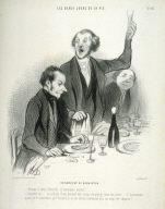 Un banquet de barbistes no. 47 from the series Les beaux jours de la vie