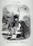 """""""Robert.... tu ne soutiens plus la conversation... c'est pas poli ça!..."""" no. 53 from the series Les bons bourgeois"""